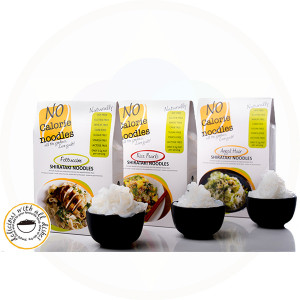 Trio of Shirataki Noodles