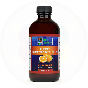 Fermented Skate Liver Oil Liquid by Green Pasture