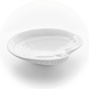 Luna Large Round Clam Serving Bowl