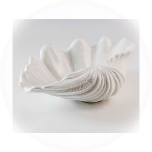 Luna Small Clam Serving Bowl