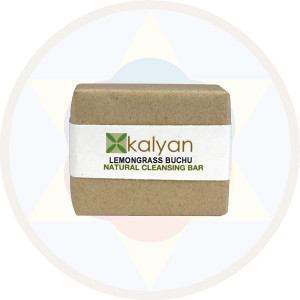 Kalyan Lemongrass & Buchu Natural  Handcrafted Cleansing Bar