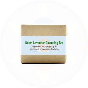 Kalyan Neem Lavender Soap Natural  Handcrafted Cleansing Bar