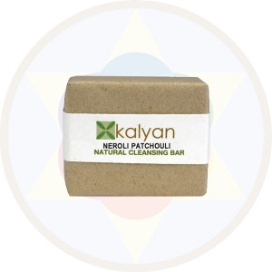 Kalyan Neroli & Patchouli Natural Handcrafted Cleansing Bar